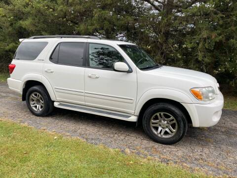 2005 Toyota Sequoia for sale at Kansas Car Finder in Valley Falls KS