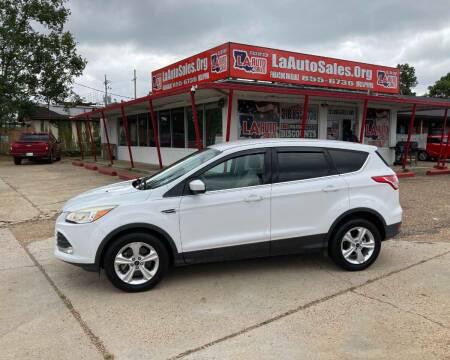 2015 Ford Escape for sale at LA Auto Sales in Monroe LA