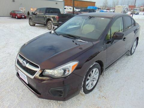 2013 Subaru Impreza for sale at Dependable Used Cars in Anchorage AK