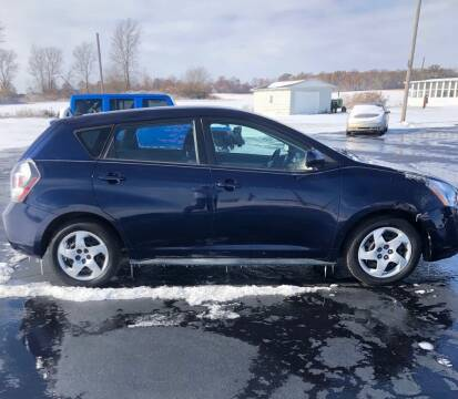 2010 Pontiac Vibe for sale at Huggins Auto Sales in Hartford City IN