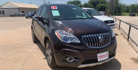 2014 Buick Encore for sale at Pioneer Auto in Ponca City OK