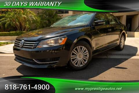 2015 Volkswagen Passat for sale at Prestige Auto Sports Inc in North Hollywood CA