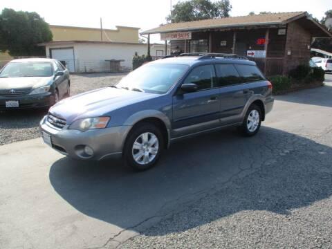 2005 Subaru Outback for sale at Manzanita Car Sales in Gridley CA