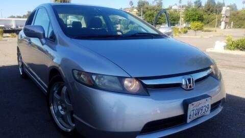 2007 Honda Civic for sale at Trini-D Auto Sales Center in San Diego CA