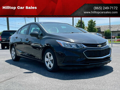 2016 Chevrolet Cruze for sale at Hilltop Car Sales in Knox TN