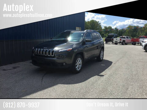 2015 Jeep Cherokee for sale at Autoplex in Sullivan IN