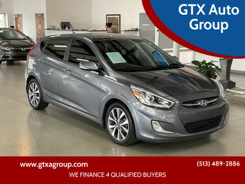2016 Hyundai Accent for sale at GTX Auto Group in West Chester OH