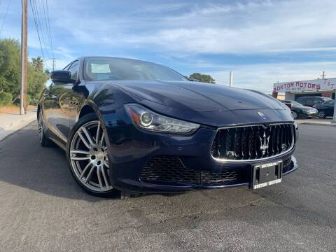 2014 Maserati Ghibli for sale at Boktor Motors in Las Vegas NV