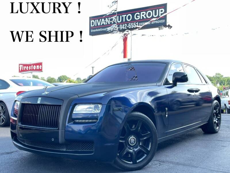 2010 Rolls-Royce Ghost for sale at Divan Auto Group in Feasterville Trevose PA
