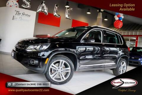 2017 Volkswagen Tiguan for sale at Quality Auto Center of Springfield in Springfield NJ