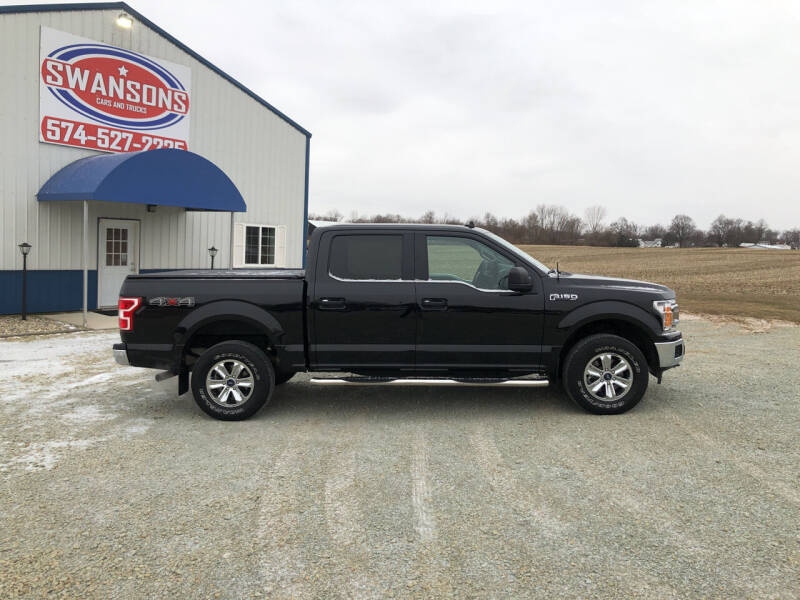 2019 Ford F-150 for sale at Swanson's Cars and Trucks in Warsaw IN