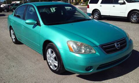 2003 Nissan Altima for sale at Pinellas Auto Brokers in Saint Petersburg FL