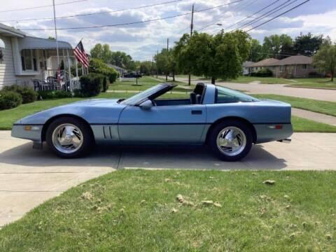 1985 Chevrolet Corvette for sale at Classic Car Deals in Cadillac MI