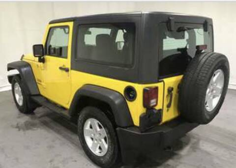 2011 Jeep Wrangler for sale at MURPHY BROTHERS INC in North Weymouth MA