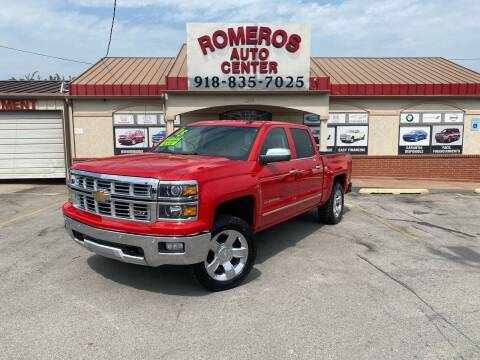 2015 Chevrolet Silverado 1500 for sale at Romeros Auto Center in Tulsa OK