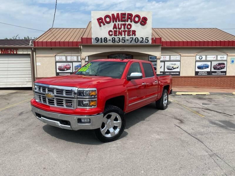 2015 Chevrolet Silverado 1500 for sale at Romeros Auto Center in Tulsa OK