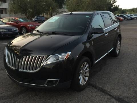 2013 Lincoln MKX for sale at STATEWIDE AUTOMOTIVE LLC in Englewood CO