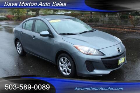 2012 Mazda MAZDA3 for sale at Dave Morton Auto Sales in Salem OR