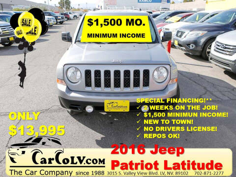 2016 Jeep Patriot for sale at The Car Company in Las Vegas NV
