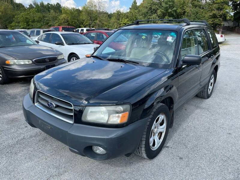 2005 Subaru Forester for sale at Best Buy Auto Sales in Murphysboro IL