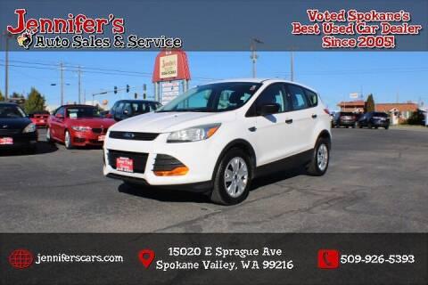 2015 Ford Escape for sale at Jennifer's Auto Sales in Spokane Valley WA
