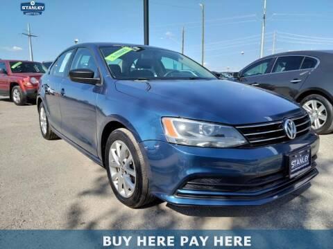 2015 Volkswagen Jetta for sale at Stanley Automotive Finance Enterprise - STANLEY DIRECT AUTO in Mesquite TX