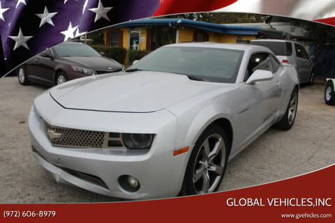 2011 Chevrolet Camaro for sale at Global Vehicles,Inc in Irving TX