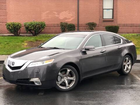 2010 Acura TL for sale at SEATTLE FINEST MOTORS in Lynnwood WA