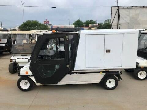 2010 Club Car Carryall 6 Electric LSV for sale at METRO GOLF CARS INC in Fort Worth TX