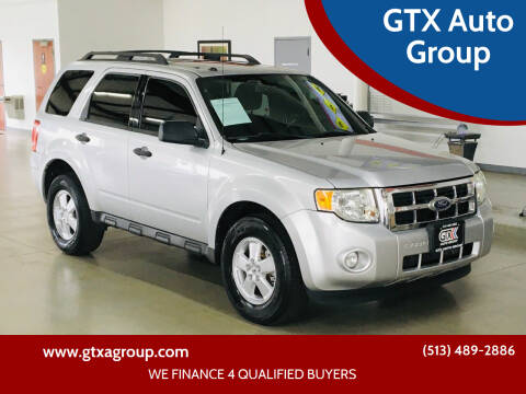 2010 Ford Escape for sale at GTX Auto Group in West Chester OH