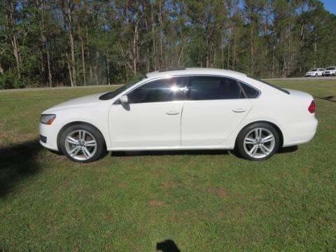 2014 Volkswagen Passat for sale at Ward's Motorsports in Pensacola FL