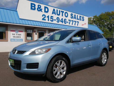 2008 Mazda CX-7 for sale at B & D Auto Sales Inc. in Fairless Hills PA