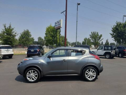 2012 Nissan JUKE for sale at New Deal Used Cars in Spokane Valley WA