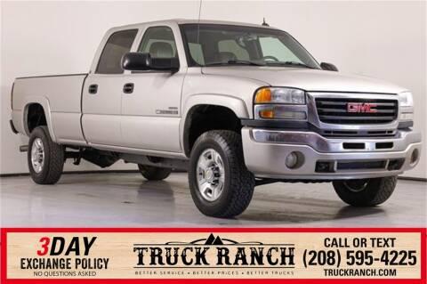 2005 GMC Sierra 2500HD for sale at Truck Ranch in Twin Falls ID