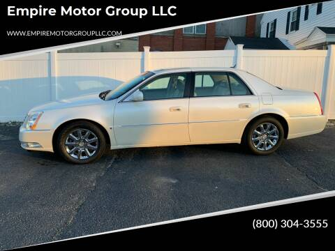 2008 Cadillac DTS for sale at Empire Motor Group LLC in Plaistow NH