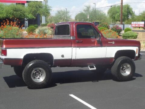 1977 Chevrolet C/K 10 Series for sale at Scottsdale Collector Car Sales in Tempe AZ