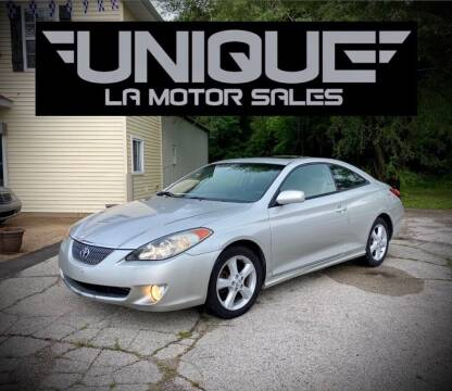 2006 Toyota Camry Solara for sale at Unique LA Motor Sales LLC in Byrnes Mill MO
