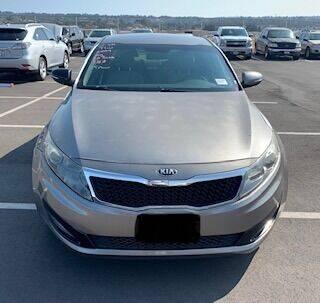2013 Kia Optima for sale at Utah Credit Approval Auto Sales in Murray UT