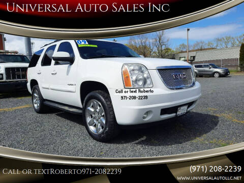 2009 GMC Yukon for sale at Universal Auto Sales Inc in Salem OR