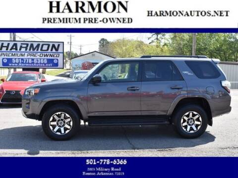 2020 Toyota 4Runner for sale at Harmon Premium Pre-Owned in Benton AR