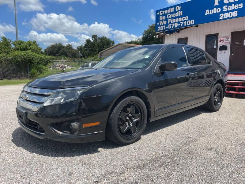 2011 Ford Fusion for sale at P & A AUTO SALES in Houston TX
