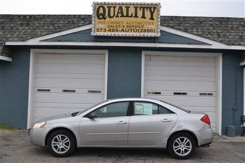2005 Pontiac G6 for sale at Quality Pre-Owned Automotive in Cuba MO
