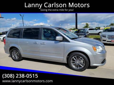 2017 Dodge Grand Caravan for sale at Lanny Carlson Motors in Kearney NE