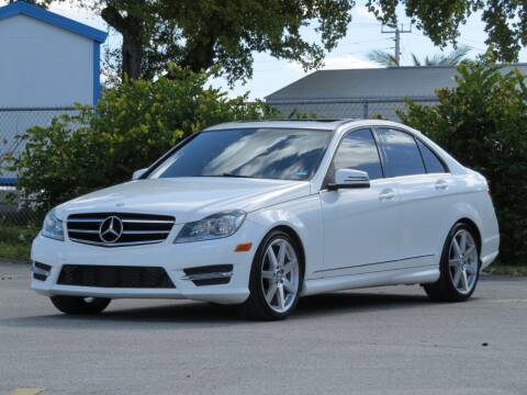 2014 Mercedes-Benz C-Class for sale at DK Auto Sales in Hollywood FL