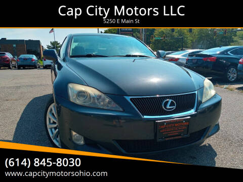 2008 Lexus IS 250 for sale at Cap City Motors LLC in Columbus OH