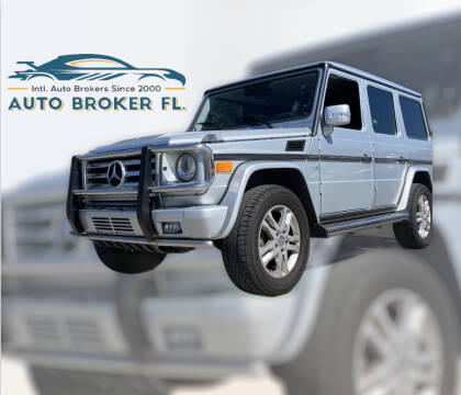 2012 Mercedes-Benz G-Class for sale at INTERNATIONAL AUTO BROKERS INC in Hollywood FL