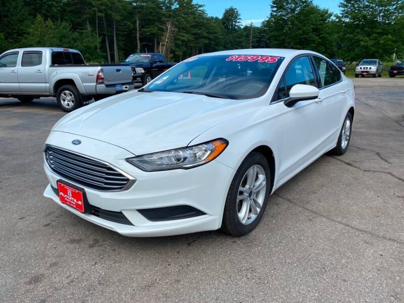 2018 Ford Fusion for sale at AutoMile Motors in Saco ME