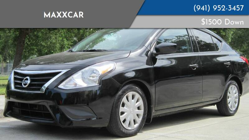 2016 Nissan Versa for sale at MaxxCar in Sarasota FL