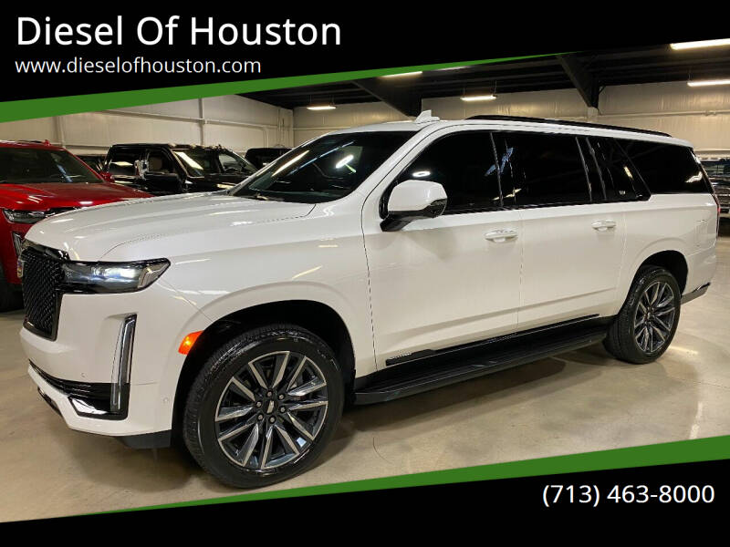 2021 Cadillac Escalade ESV for sale at Diesel Of Houston in Houston TX