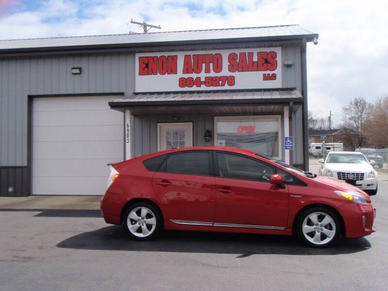 2012 Toyota Prius for sale at ENON AUTO SALES in Enon OH